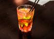 mojito, cocktail with ice, bar menu