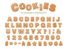 Gingerbread Alphabet For Decor...