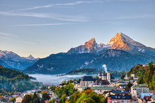 The City Of Berchtesgaden And ...