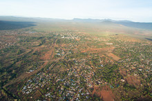 Voi Town In Kenya Near Tsavo National Park