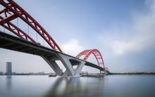 Suspension Iron Chain Bridge I...