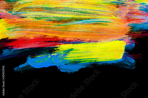 Fototapety, obrazy: Neon colorful drawing