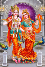 Indian Lord Beautiful Radha Kr...