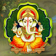 Indian God Ganesha Wallpaper W...