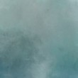 canvas print picture - square graphic painted fog with light slate gray, teal blue and pastel blue colors. can be used as texture pattern or wallpaper