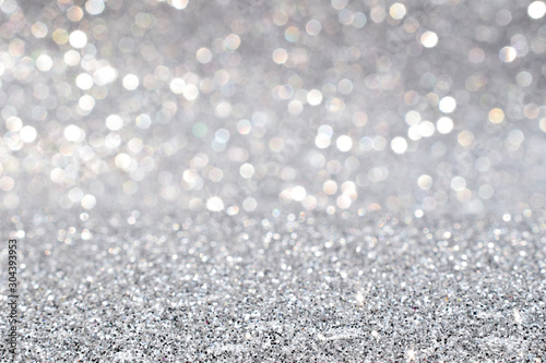 Fotomural  silver plate texture background