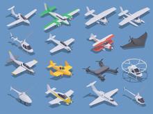 Air Transport Isometric Set