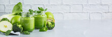 Green Smoothie With Vegetables...