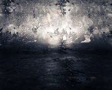 Background  光が効いた背景  幻想的で闇の中の光を思わせる背景画像
