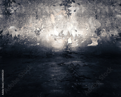 Background  光が効いた背景  幻想的で闇の中の光を思わせる背景画像 Wallpaper Mural