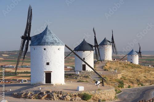 Fototapety, obrazy: The mills of Don Quixote.