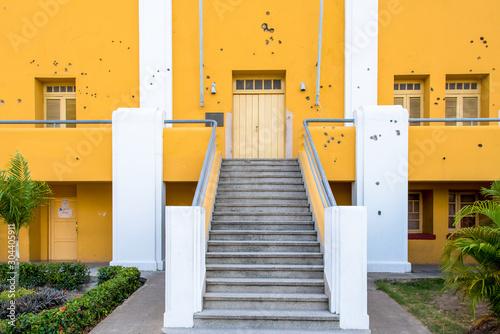 The Moncada Barracks, Santiago de Cuba city, Cuba Canvas Print