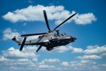 Vojni helikopter na maloj visini