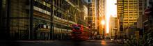 Busy London High Street Surrou...