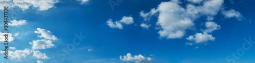 Carta da parati Panorama sky with cloud on a sunny day