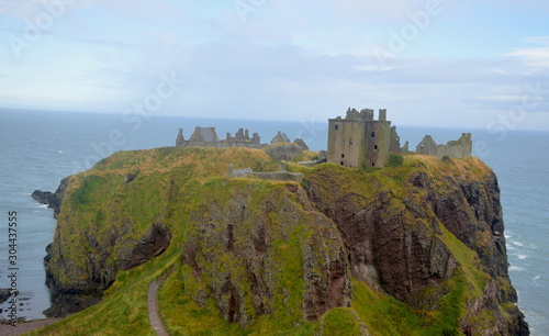 Photo dunottar castle in scotland