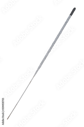 Cuadros en Lienzo Christmas sparkler stick isolated on white background