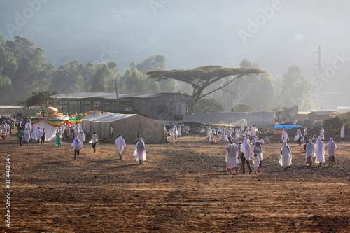 Fototapeta Timkat Etiopia  obraz