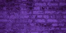 Texture Of Purple Brick Wall