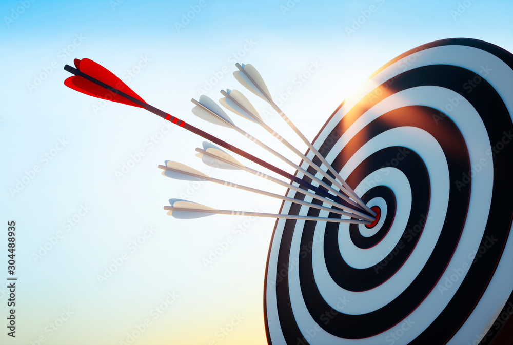 Fototapeta  Achieve Goals - Success