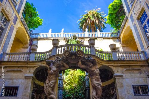 Fotografia Palazzo Lomellino di Strada Nuova at Via Garibaldi in Genoa