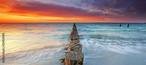 romantischer Meeresblick Fototapet