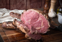 Roasted Thick Cut Ribeye With ...