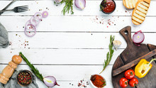 Cooking Banner. Background Wit...