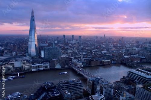 Photo Vista aérea de Londres