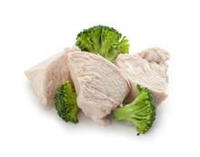 Prepared Chicken Pieces With Broccoli