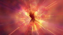 Explosion Fire Abstract Backgr...