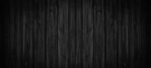 Old Black Grey Rustic Dark Wooden Texture - Wood Background Banner