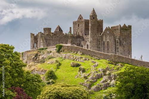 Canvas-taulu Rock of Cashel, Castle on the hill in Tipperary, Ireland