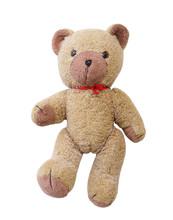 Vintage Teddy Bear Isolated On...