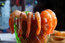 Shrimp Cocktail Glass Cup