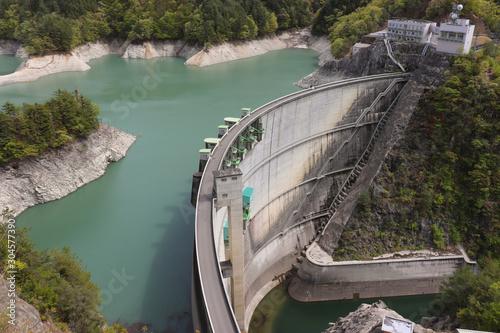 Photo 小渋ダム(長野県),Koshibu Dam(Nagano Pref,Japan)