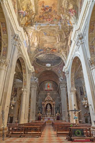 MODENA, ITALY - APRIL 14, 2018: The of church Chiesa di San Bartolomeo.