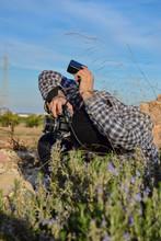 Photographer Man Working Orien...
