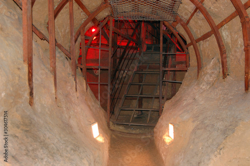 Cave monastery of St Fototapeta