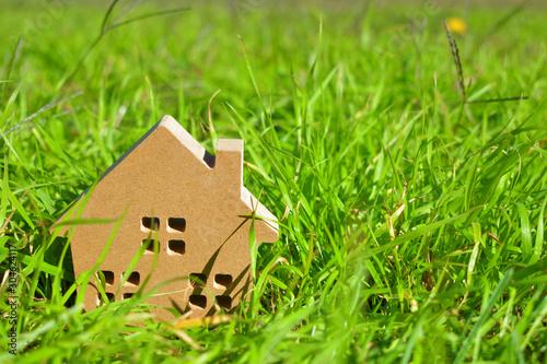 マイホーム 幸せな家のイメージ Canvas Print