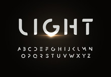 Modern Vector Font Design In S...