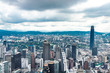 Cityscape of Kuala Lumpur Malaysia with towers and high rise buildings