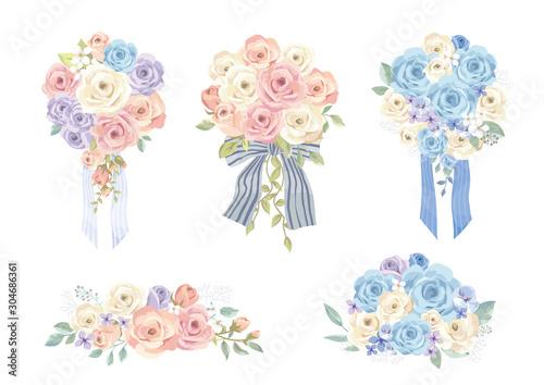 Fotografering バラの花束