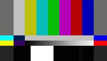 Test TV Screen Background. Vec...