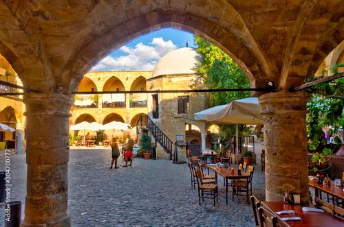 Canvastavla Cyprus, North Nicosia, HDR Image