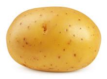 Potato, Isolated On White Back...