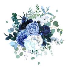Royal Blue, Navy Garden Rose, ...