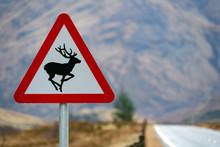 British Road Sign - Scottish H...