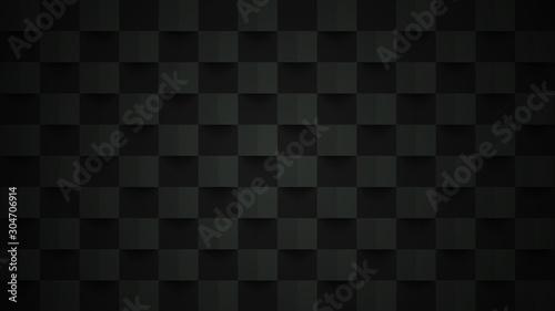 Fototapety, obrazy: Black background. Abstract geometric design. Vector illustration. eps 10