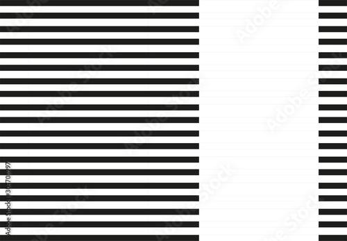 Fondo de rayas negras y blanca. Fototapet